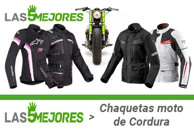chaquetas de cordura para moto