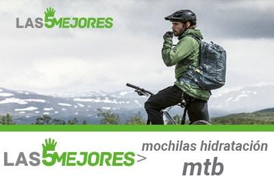 Mejores mochilas hidratacion mtb