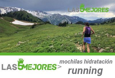 Mejores mochilas hidratacion de running