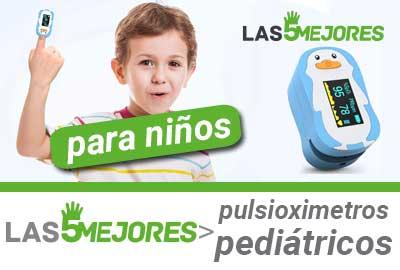 Mejores pulsioxímetros para niños