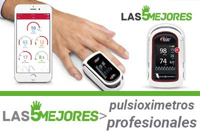 Mejores pulsioxímetros profesionales