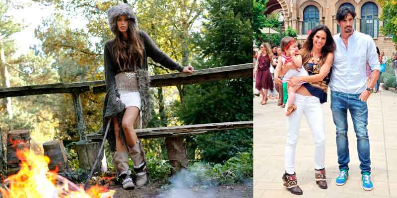Mireia Canalda fue la imagen de Layer Boots
