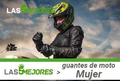 Mejores Guantes de mujer de moto