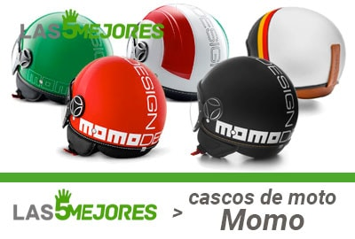 Que casco Momo para moto comprar