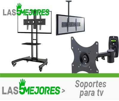 Tipos de soportes para tv