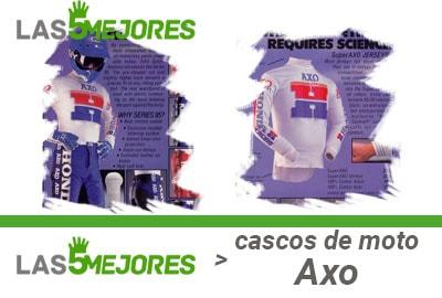 Historia cascos Axo