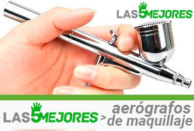 aerógrafo de maquillaje
