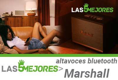 Que altavoz Marshall con bluetooth comprar