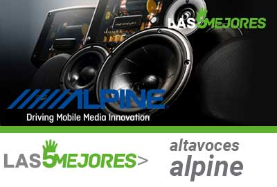 Altavoces de coche Alpine