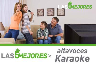 Altavoces para karaoke