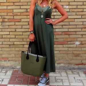 O bag el bolso de mujer para la playa