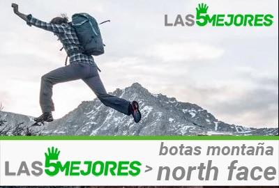 botas North Face montaña