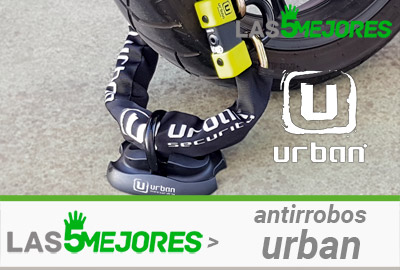 candados urban para moto