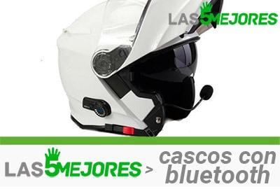 mejores cascos de moto con bluetooth