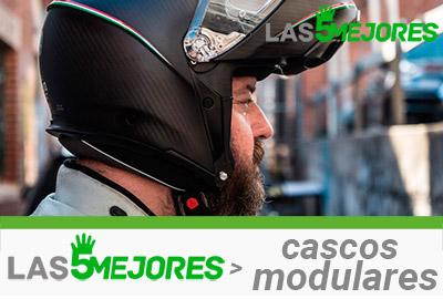 casco modular para moto hombre
