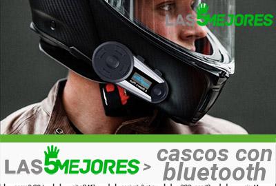 cascos de moto con manos libres bluetooth