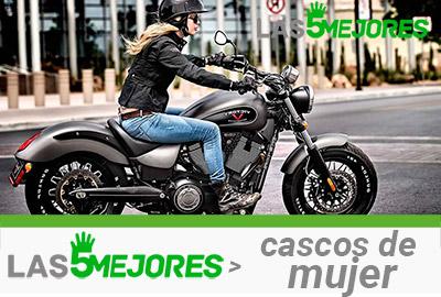 casco de moto de mujer