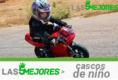 cascos para motos infantiles