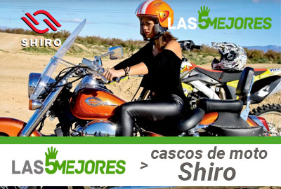 Tallas de cascos Shiro