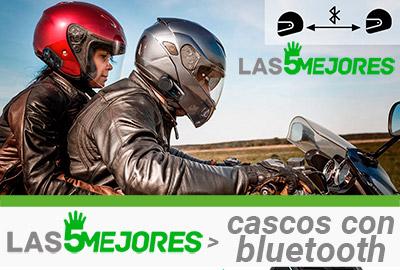 cascos de moto con bluetooth integrado