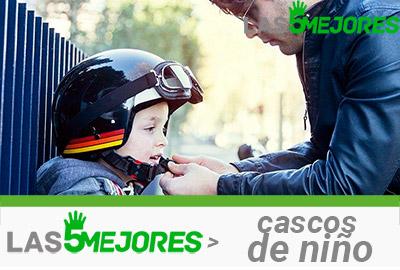 casco de moto de niño