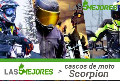 Donde comprar cascos Scorpion