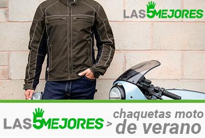 chaqueta de verano para moto de hombre