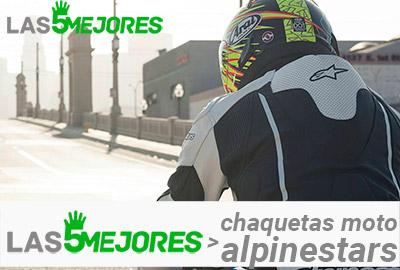 chaquetas alpinestars para moto