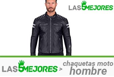 mejores chaquetas de moto para hombre
