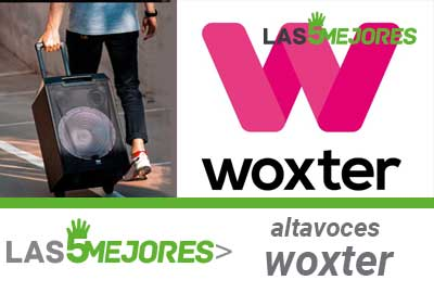 comprar altavoces woxter