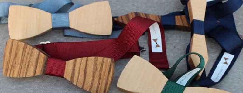 Donde comprar las pajaritas de madera lisas