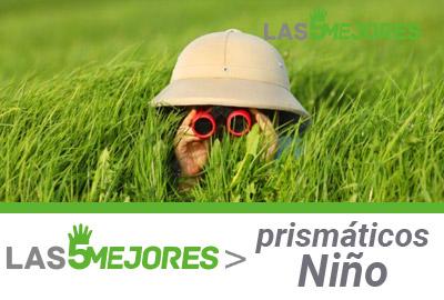 prismáticos para niños guía de compra