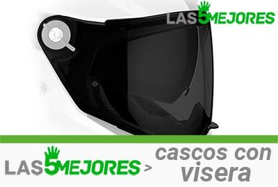 visera para casco de moto