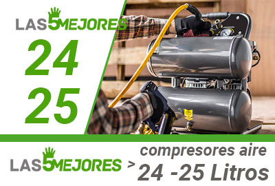 Mejores compresores de aire de 24 litros