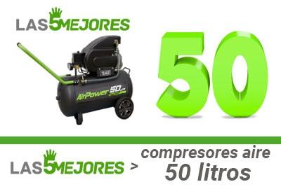 Mejores compresores de 50 litros