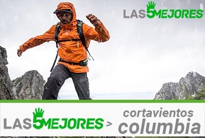 cortavientos columbia montaña impermeable