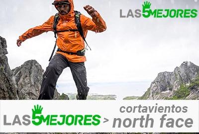chaqueta cortavientos the north face running para montaña