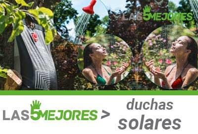 Comprar la mejor ducha solar