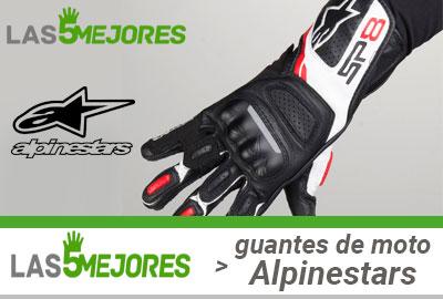 modelos de guantes de alpinestars para moto