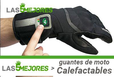 Guía de compra de guantes de moto calefactables