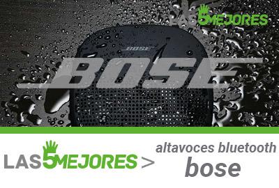 guía altavoces bluetooth bose