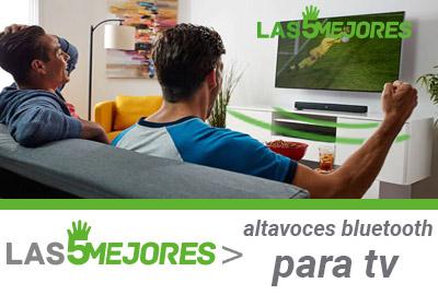 guia compra altavoces bluetooth para tv