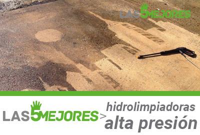 Antes y después hidrolimpiadoras de alta presión