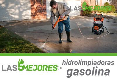 Guia mejores hidrolimpiadoras de gasolina