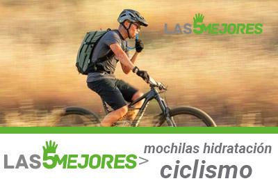 Mejores mochilas hidratacion ciclismo