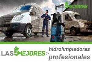 Mejores hidrolimpiadoras de profesional