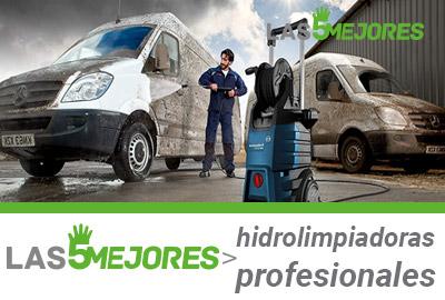 mejores hidrolimpiadoras profesionales