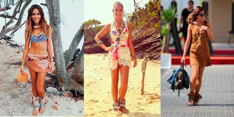 Lara Alvarez usó Layer Boots en Supervivientes