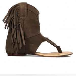 Sandalias boho de verano Layer boots