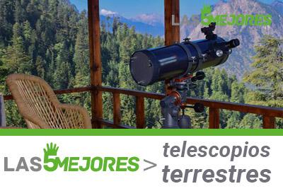 Mejores telescopios terrestres